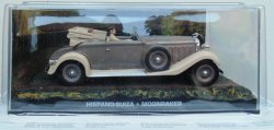 Macheta Hispano Suiza James Bond, 1:43