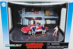 Diorama Animal House Chevy Corvette 1959, 1:64, Greenlight