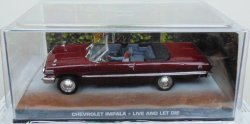 Macheta Chevrolet Impala coupe James Bond, 1:43, Ixo